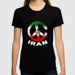 Iran Peace Sign Shirt T-shirt