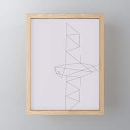 EGYPTIAN SYMBOL FALCON Framed Mini Art Print