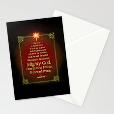 For to us a child is born . . . Stationery Cards