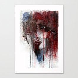 Show me your pain Canvas Print
