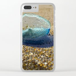 Velella Velella (By-the-Wind Sailor) Clear iPhone Case
