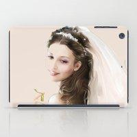 bride iPad Cases featuring bride by tatiana-teni