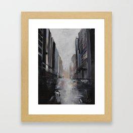 Lamb in the City Framed Art Print