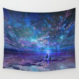 Ocean, Stars, Sky, and You Wall Tapestry