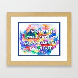 Single Framed Art Print