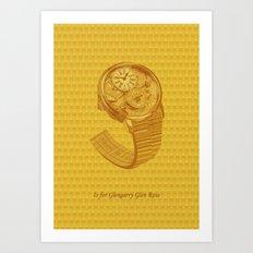 G is for Glengarry Glenross Art Print