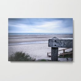 Across the Channel Metal Print