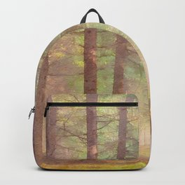 Scottish forest watercolor painting #5 Backpack