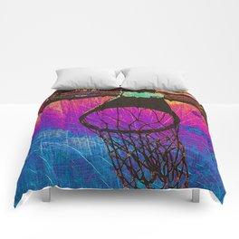 basketball art Comforters