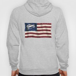 American Off Road 4x4 Overland Flag Hoody