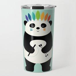 Be Brave Panda Travel Mug