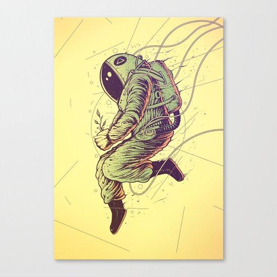 Green Mission Canvas Print