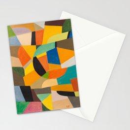 Otto Freundlich German Untitled, 1930–1935 Pastel Geometric Colorful Art Stationery Cards