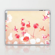 Hummingbirds in the garden Laptop & iPad Skin