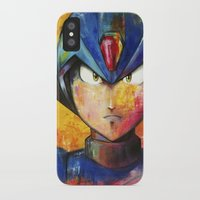 megaman iPhone & iPod Cases featuring Megaman by Jhaiku