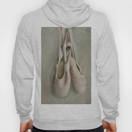 Creamy pink ballet shoes Hoody