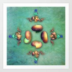 Seashell Fantasy Art Print
