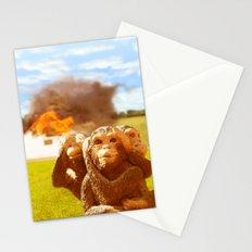 Monkeys Make Bad Pets. Stationery Cards