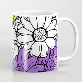 Non binary flowers Coffee Mug