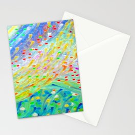 Sparkle Abstract Stationery Cards