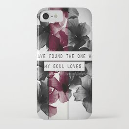 My soul loves iPhone Case