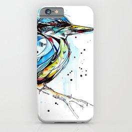Bold Kingfisher  iPhone Case