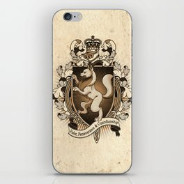 Wolf Coat Of Arms Heraldry iPhone Skin