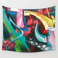 cosmos Wall Tapestries featuring Cosmos by Geronimo Studio