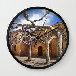 Plaza Viriato-Zamora Wall Clock