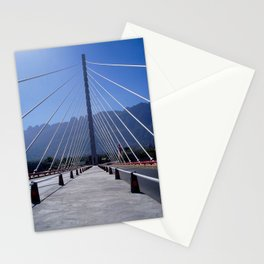 The united bridge, Monterrey, Mexico Stationery Cards