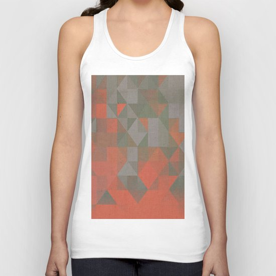 Faceted Vibes Unisex Tank Top