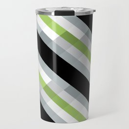 PRIDE - Agender Travel Mug