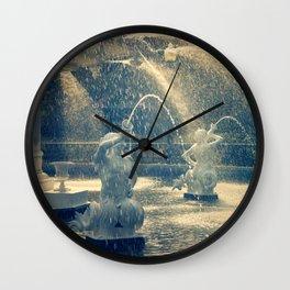 Savannah Forsyth Fountain Wall Clock