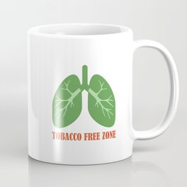 Tobacco Free Zone Coffee Mug