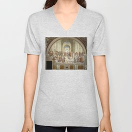 Raphael - The School of Athens Unisex V-Neck