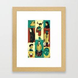 Random_things01.jpg Framed Art Print