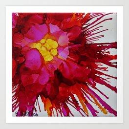 Blissful Explosion Art Print
