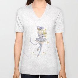 Diana´s human form Sailormoon fanart Unisex V-Neck