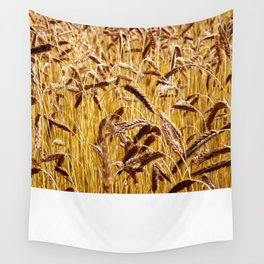 High grain image Wall Tapestry