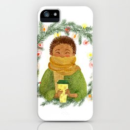 Corey iPhone Case