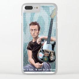 Be Like Joe Clear iPhone Case