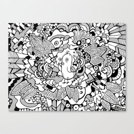 Fly Away! Canvas Print