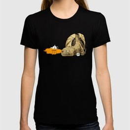 Dragon making Tea T-shirt