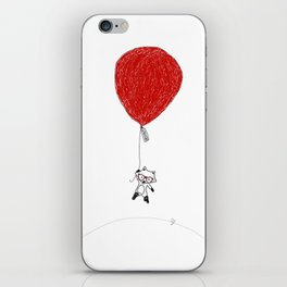 Fox Ballon iPhone Skin