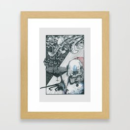 Caram Sevenhop' guide to the ill constructed underworld Framed Art Print