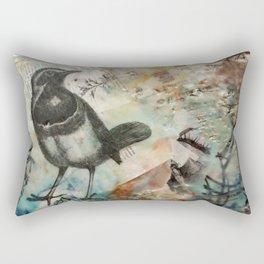 Magpie Rectangular Pillow