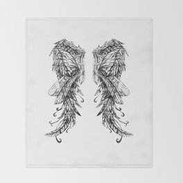 "Collection "" Nightmares"" impression ""Spirit Wings"" Throw Blanket"