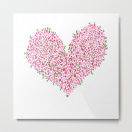 Falling in Love With You Metal Print