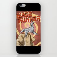 blade runner iPhone & iPod Skins featuring Blade Runner   by Joe Badon