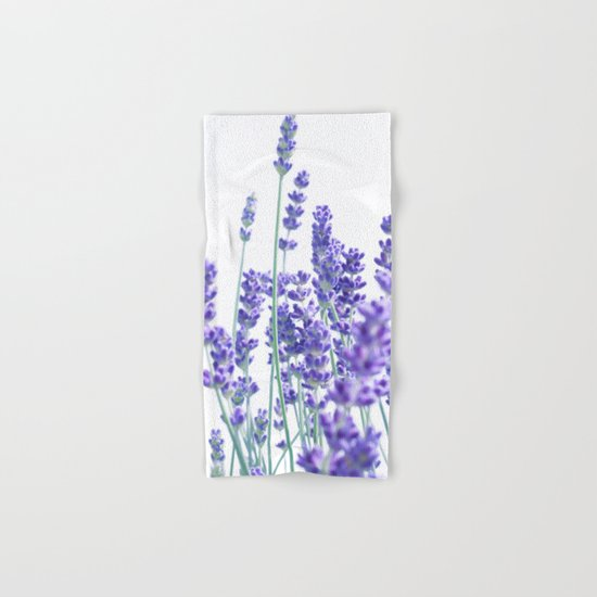 Fresh Lavender #1 #decor #art #society6 Hand & Bath Towel